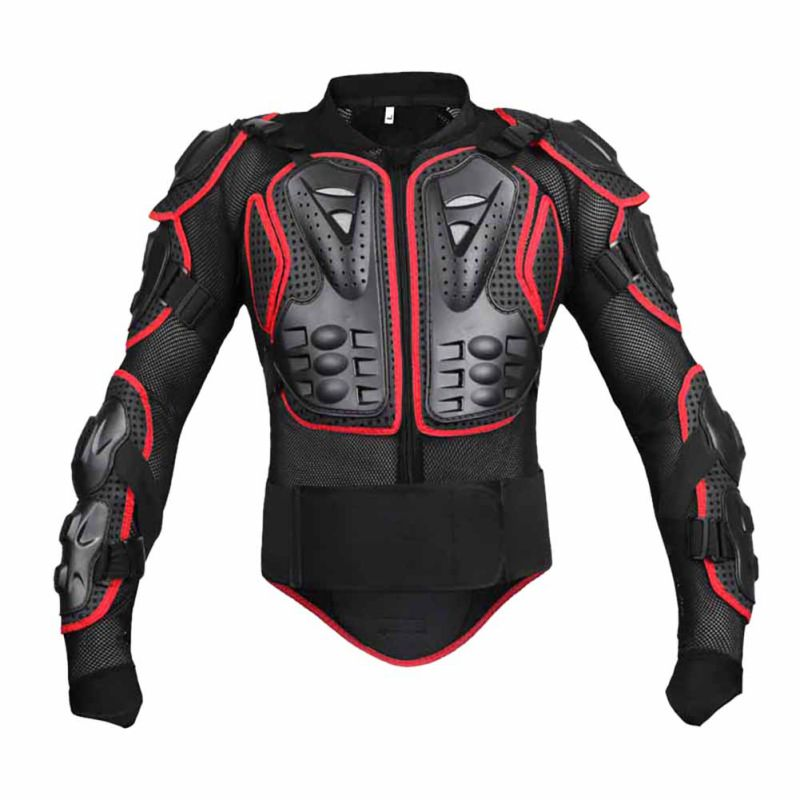 Full Body Armor Protector Jacket Dirt Bike Motorcycle Off-Road Protective Gear