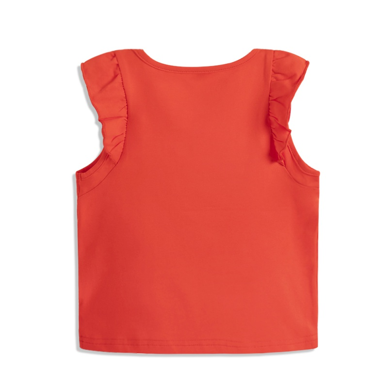 ABC-KIDS-Baby-Girl-Summer-T-shirt-Top-Blouse-Short-Sleeve-Sleeveless-Casual-Tee thumbnail 2
