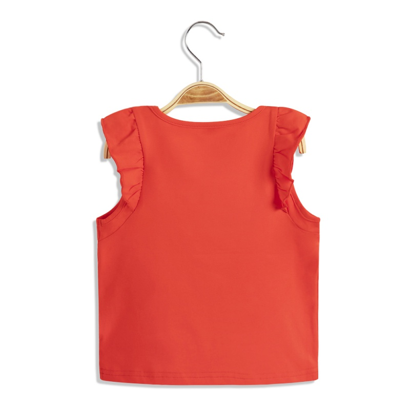 ABC-KIDS-Baby-Girl-Summer-T-shirt-Top-Blouse-Short-Sleeve-Sleeveless-Casual-Tee thumbnail 3