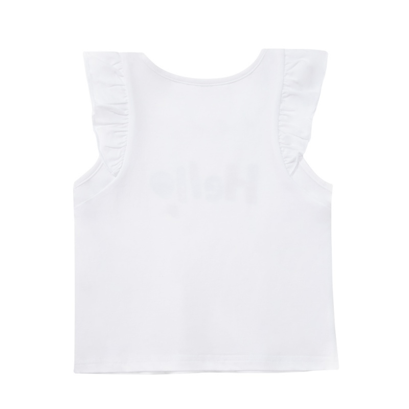 ABC-KIDS-Baby-Girl-Summer-T-shirt-Top-Blouse-Short-Sleeve-Sleeveless-Casual-Tee thumbnail 9