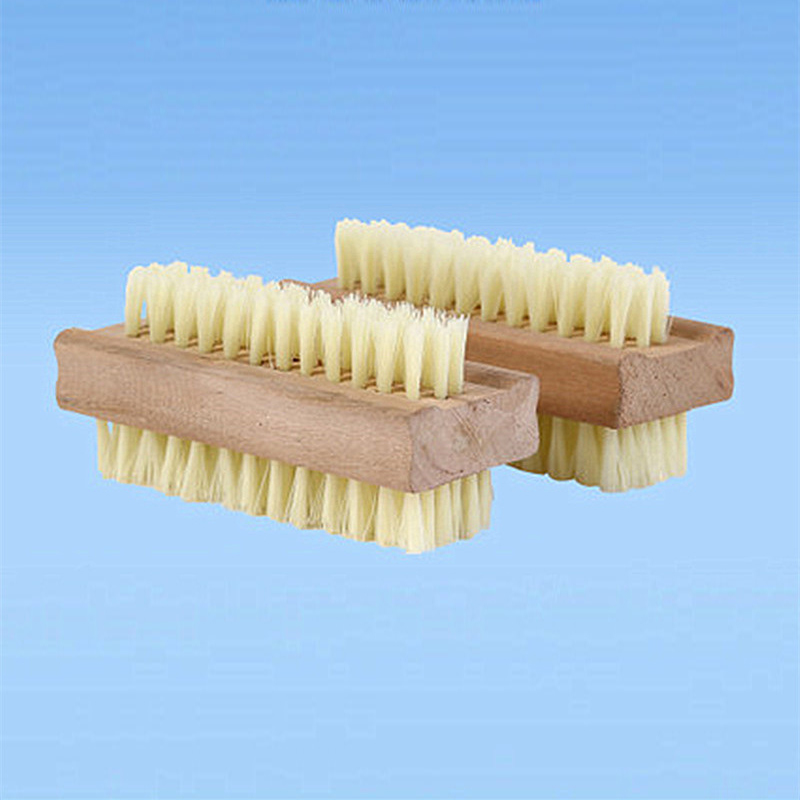 Essential Oil Massage Brush Double-Sided Wooden Bath Cleanin