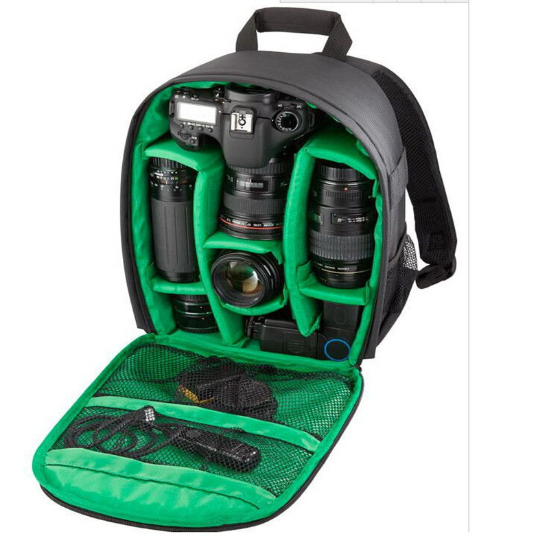 Outdoor Travel Shockproof Storage Bag Backpack For Nikon for