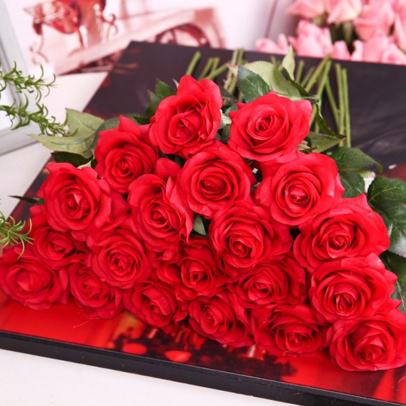 US Bridal Bouquet Posy Silk Flowers Hydrangea Floral Home Wedding ...
