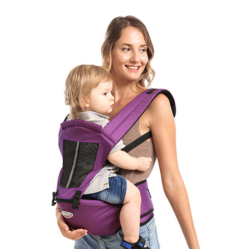 Portable Baby Toddler Carrier Infant Backpack Hip Seat Easy Carrier