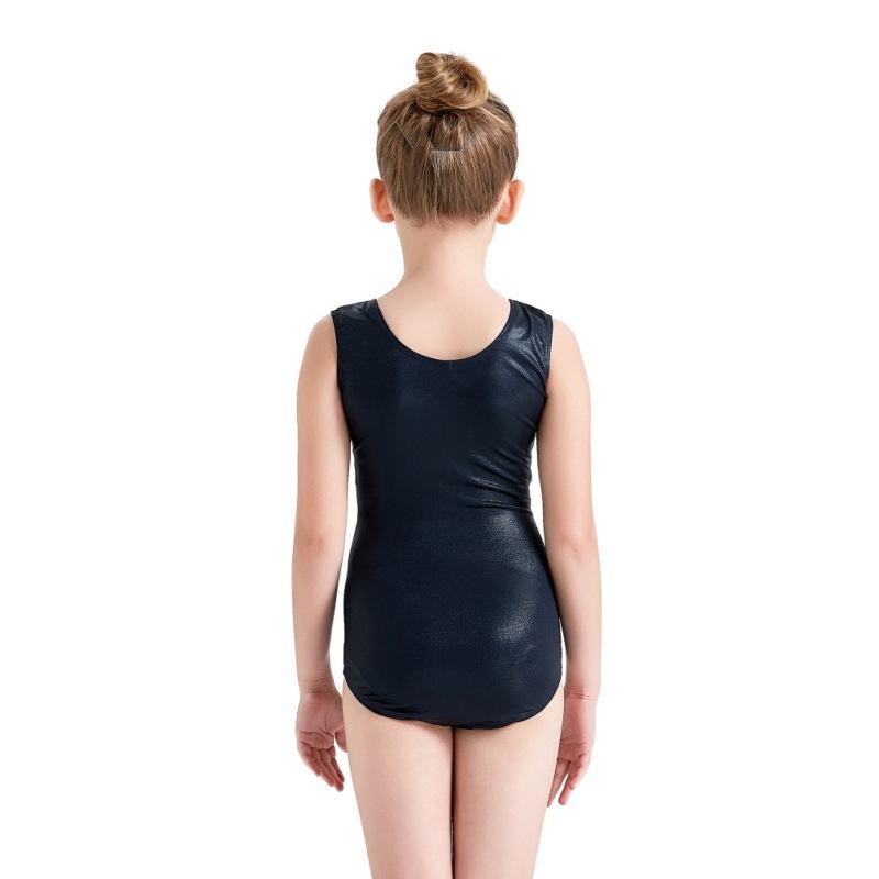 Kid-Girl-Shiny-Ballet-Dance-Gymnastics-Leotards-Athletic-Tank-Bodysuit-for-3-14Y thumbnail 25