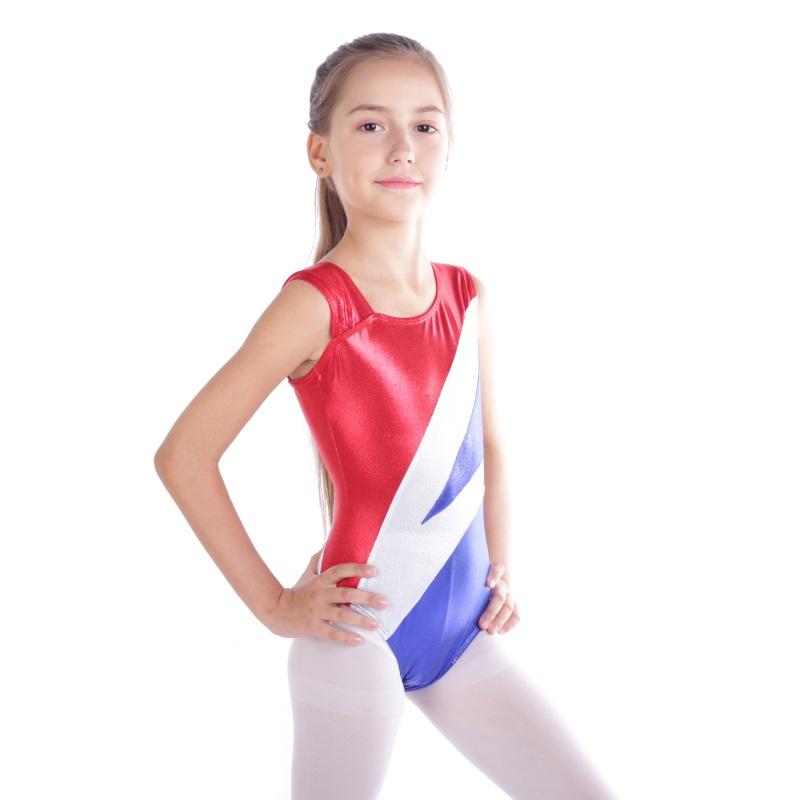 Kid-Girl-Shiny-Ballet-Dance-Gymnastics-Leotards-Athletic-Tank-Bodysuit-for-3-14Y thumbnail 32