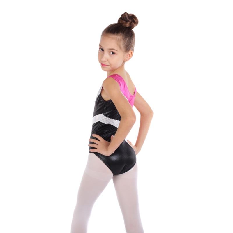 Kid-Girl-Shiny-Ballet-Dance-Gymnastics-Leotards-Athletic-Tank-Bodysuit-for-3-14Y thumbnail 34