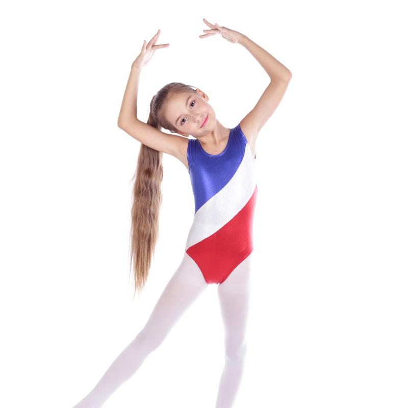 Kid-Girl-Shiny-Ballet-Dance-Gymnastics-Leotards-Athletic-Tank-Bodysuit-for-3-14Y thumbnail 38
