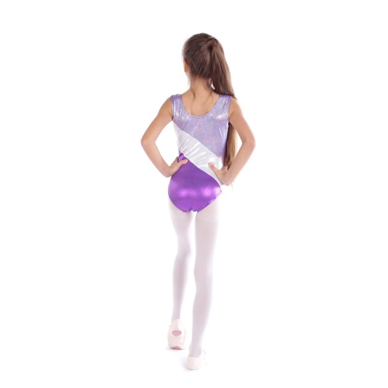 Kid-Girl-Shiny-Ballet-Dance-Gymnastics-Leotards-Athletic-Tank-Bodysuit-for-3-14Y thumbnail 40