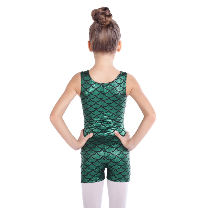 Kid-Girl-Shiny-Ballet-Dance-Gymnastics-Leotards-Athletic-Tank-Bodysuit-for-3-14Y thumbnail 49