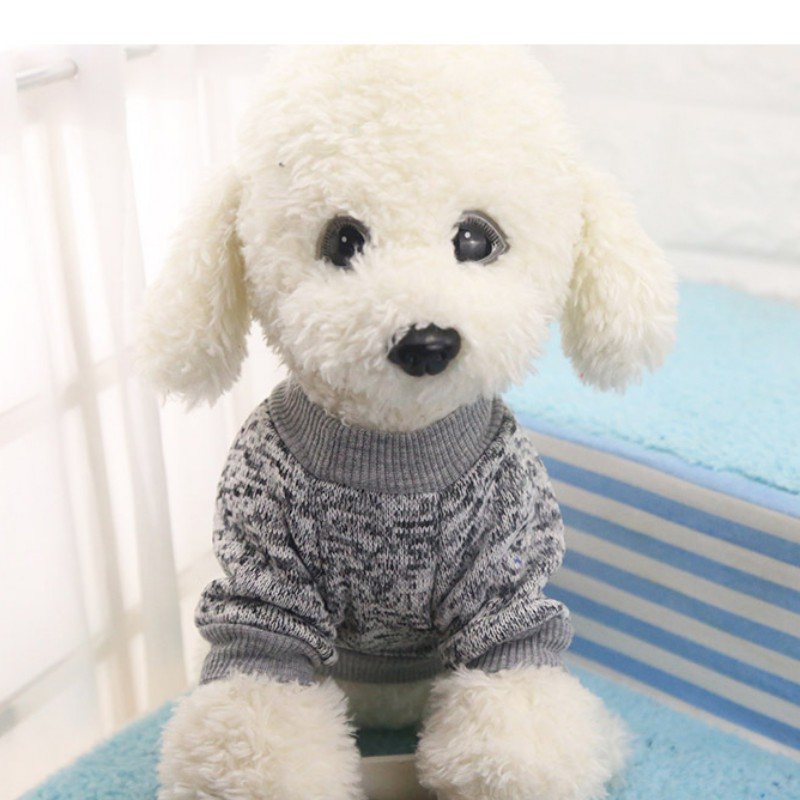 Small-Dogs-Soft-Pet-Dog-Sweater-Chihuahua-Jumper-Pullover-Pet-Outfit-Clothes thumbnail 12