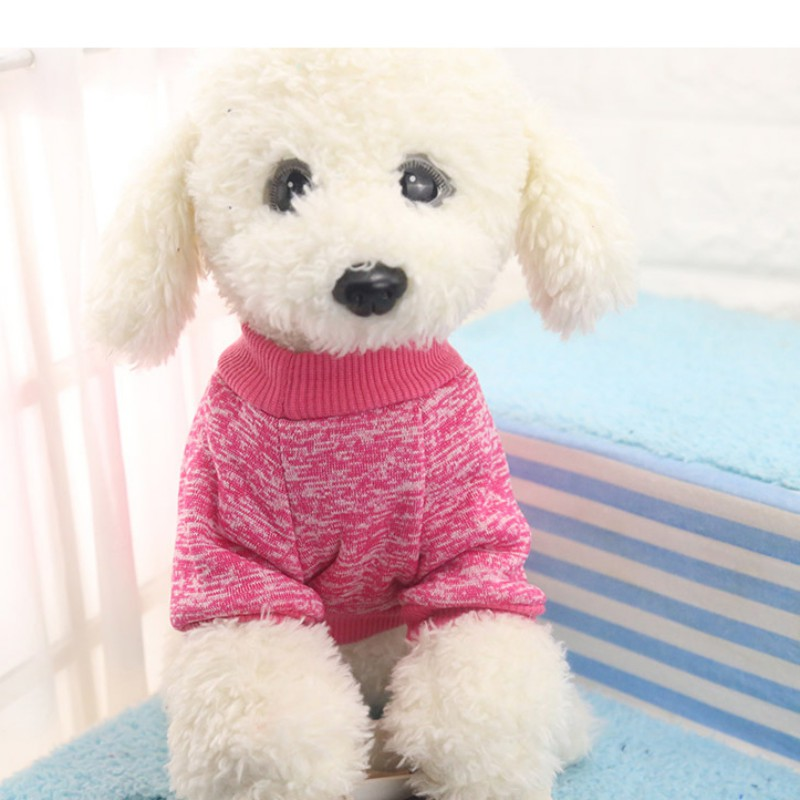 Small-Dogs-Soft-Pet-Dog-Sweater-Chihuahua-Jumper-Pullover-Pet-Outfit-Clothes thumbnail 10