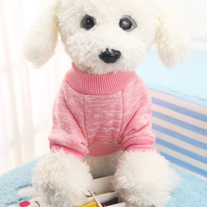 Small-Dogs-Soft-Pet-Dog-Sweater-Chihuahua-Jumper-Pullover-Pet-Outfit-Clothes thumbnail 14