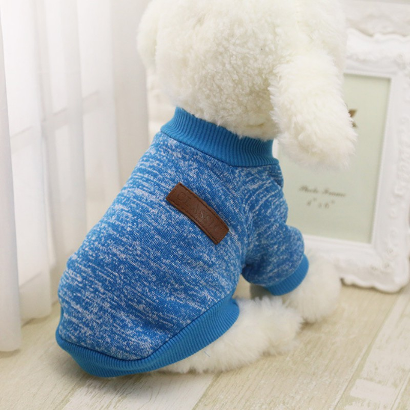 Small-Dogs-Soft-Pet-Dog-Sweater-Chihuahua-Jumper-Pullover-Pet-Outfit-Clothes thumbnail 18