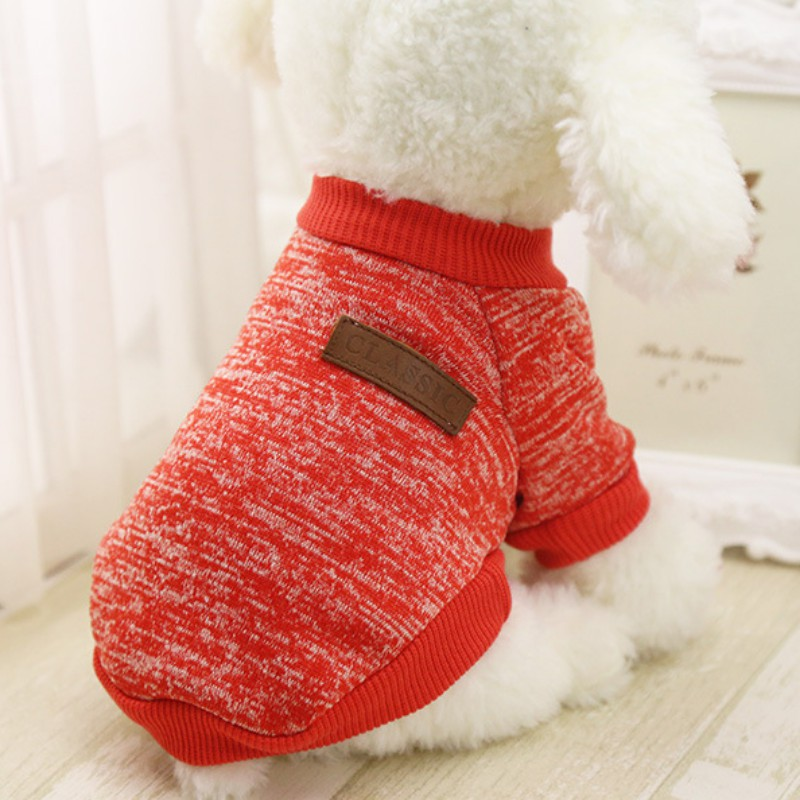 Small-Dogs-Soft-Pet-Dog-Sweater-Chihuahua-Jumper-Pullover-Pet-Outfit-Clothes thumbnail 20