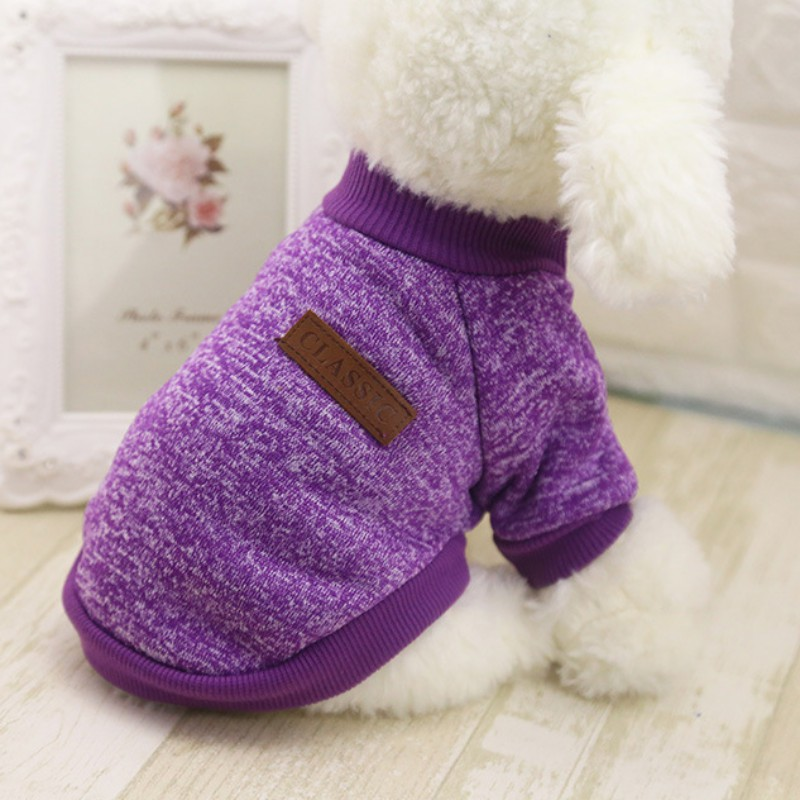 Small-Dogs-Soft-Pet-Dog-Sweater-Chihuahua-Jumper-Pullover-Pet-Outfit-Clothes thumbnail 16