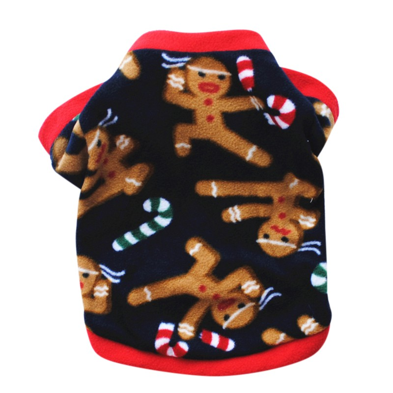 Pet-Dog-Christmas-Santa-Sweater-Puppy-Shirt-Top-Clothes-Pullover-Hoodies-Costume thumbnail 17