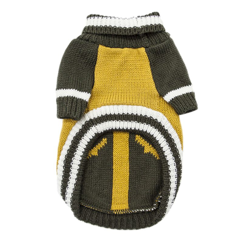 Pet-Coat-Dog-Jacket-Knitted-Winter-Clothes-Puppy-Sweater-Coat-Clothing-Apparel thumbnail 29