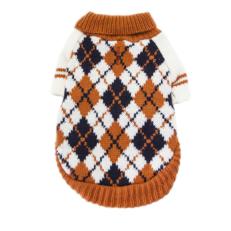 Pet-Coat-Dog-Jacket-Knitted-Winter-Clothes-Puppy-Sweater-Coat-Clothing-Apparel thumbnail 41