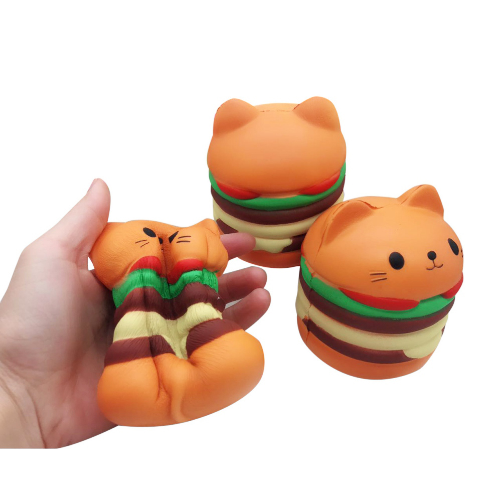 stress reliever toys kawaii squishies donut soft bread squishy cat slow rising