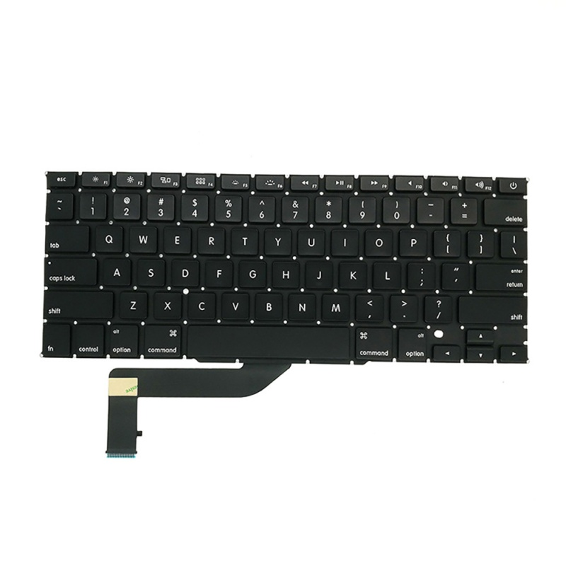 US-Laptop-Keyboard-Shell-for-Apple-MacBook-Pro-Retina-15-034-A1398-Replacement-US thumbnail 7
