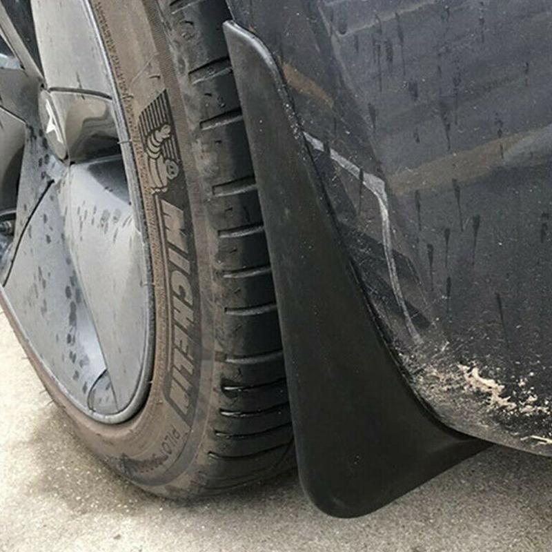 Universal-rubber-Car-Mud-Flaps-Splash-Guards-For-Tesla-Model-3-Fixing-Screws thumbnail 5