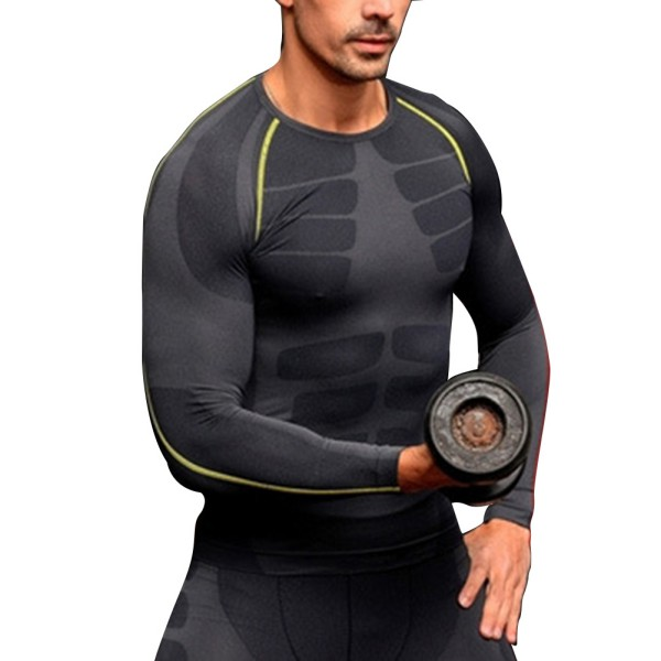 Sports Men Black Fitness Gym Base Layer Compression Outdoor Tight