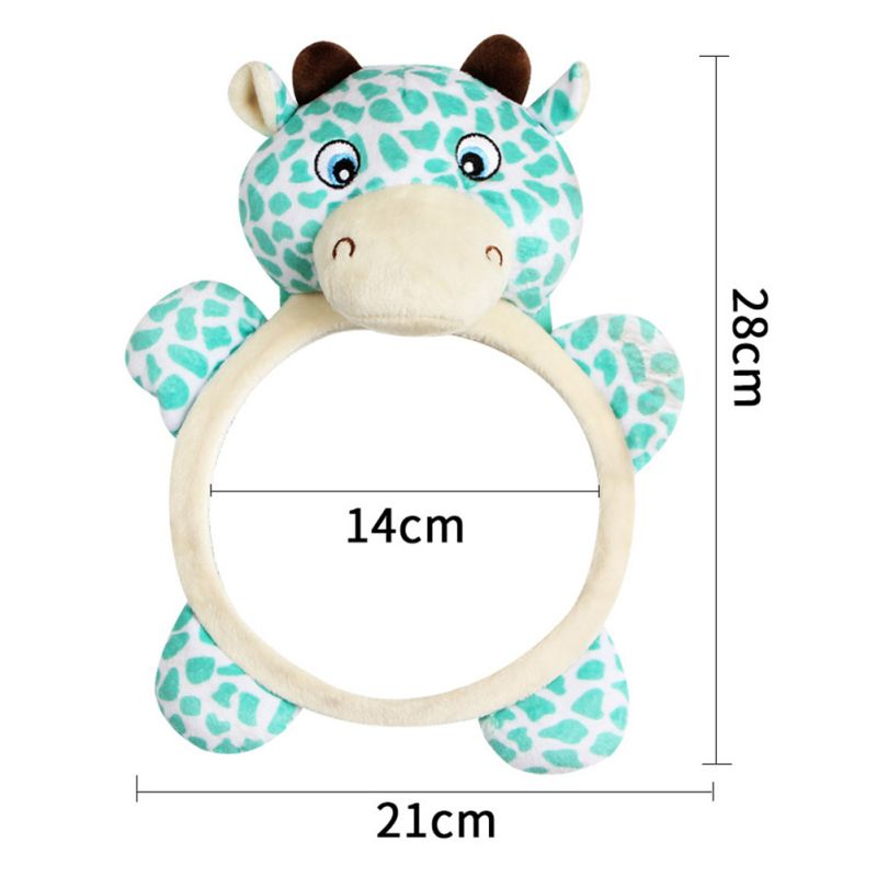US-Newborn-Baby-Kids-Mirror-Back-Car-Seat-Cover-for-Child-Rear-Ward-Safety-View thumbnail 7