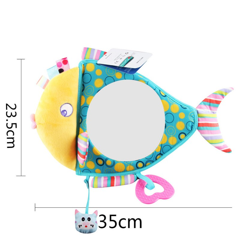 US-Newborn-Baby-Kids-Mirror-Back-Car-Seat-Cover-for-Child-Rear-Ward-Safety-View thumbnail 11