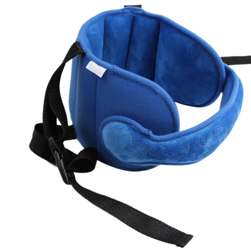 Kids Child Head Neck Support Car Seat Belt Safety Headrest