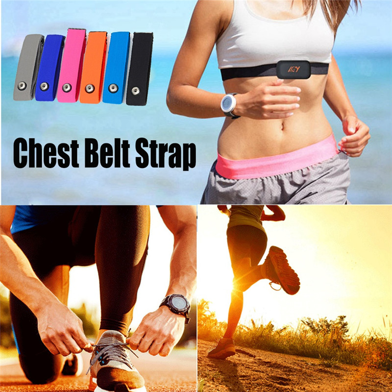 Chest Strap Band Sports ANT& Bluetooth 4.0 Heart Rate Adjust