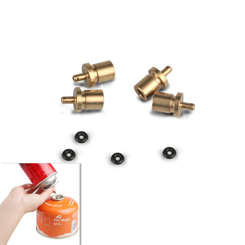 UK Gas Refill Adapter Outdoor Camping Stove Cylinder Butane Canister Accessories