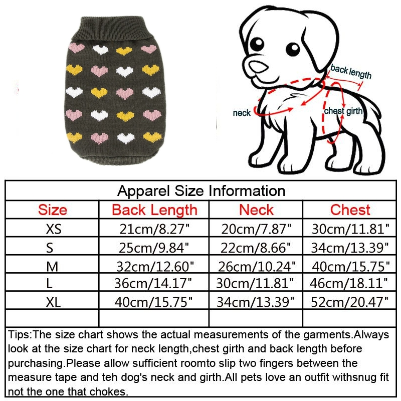 Pet-Coat-Dog-Jacket-Knitted-Winter-Clothes-Puppy-Sweater-Coat-Clothing-Apparel thumbnail 47