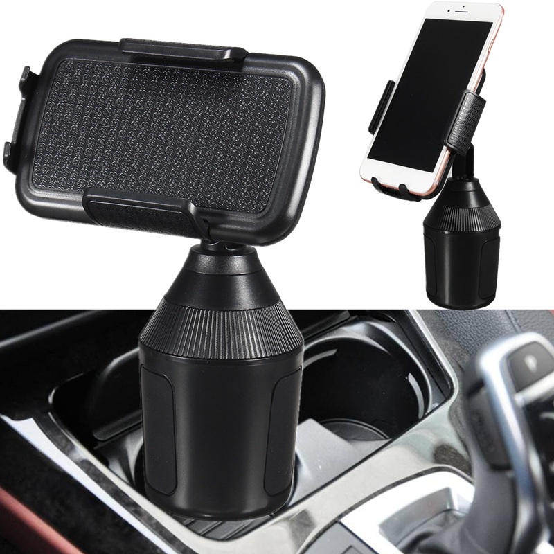 360-Adjustable-Car-Cup-Mount-Phone-Holder-for-iPhone-Cell-Phone-Universal-Mobile thumbnail 3