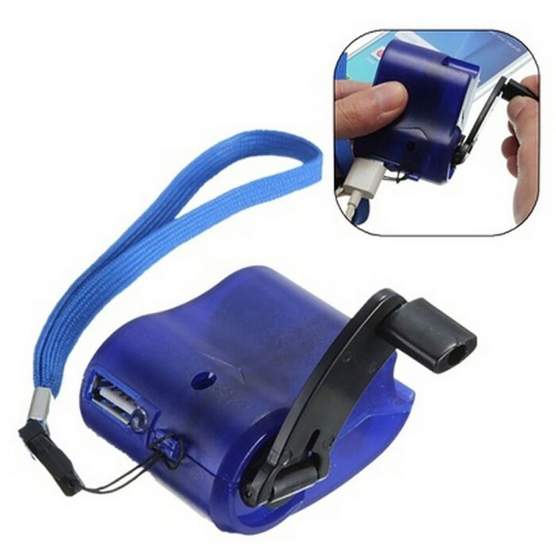 SOS Phone Charger Power USB Gadget Emergency Survival Gear H